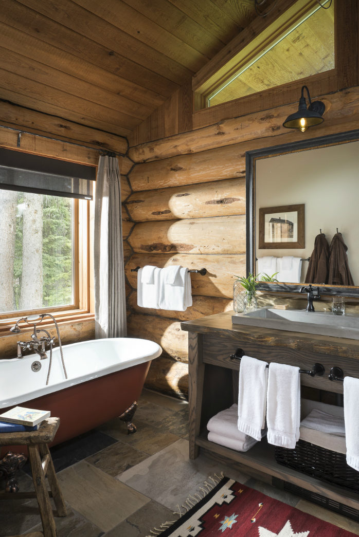 clawfoot-tub-log-cabin-interior-design-river-and-lime