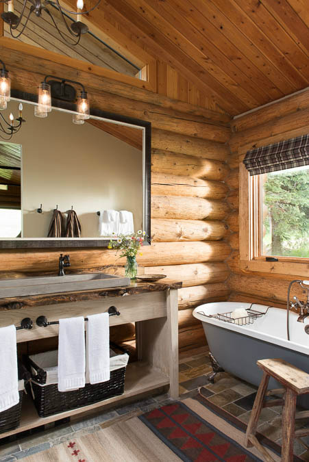 log-cabin-wall-bathroom-design-river-and-lime-mt